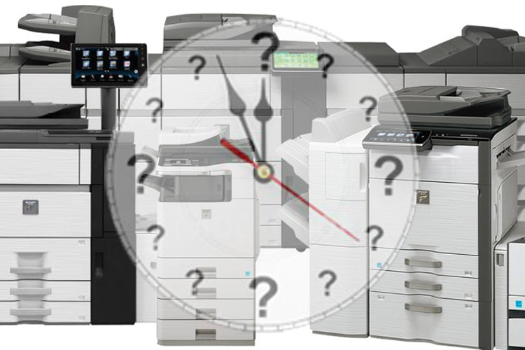When is the right time to buy a copier?