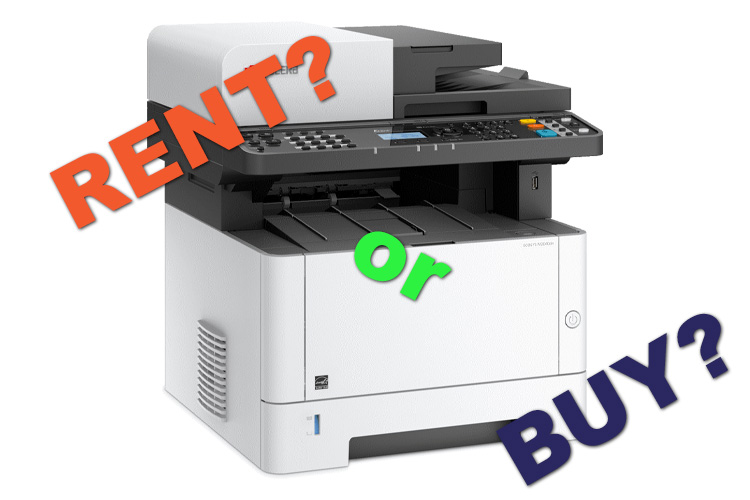 Buying vs Renting - Advantages of Renting Office Equipment